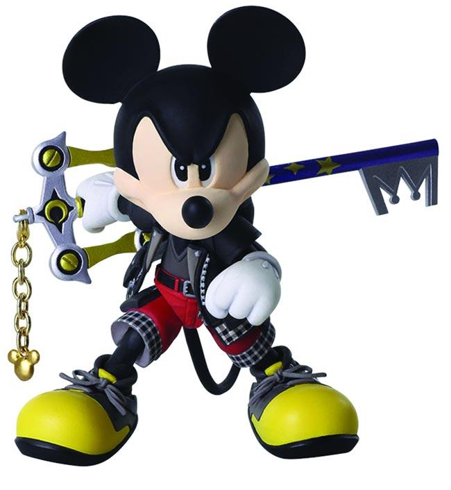 Kingdom Hearts 3 Bring Arts King Mickey additional pose