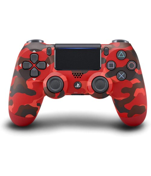 PlayStation 4 DualShock 4 Wireless Controller Red Camouflage Sony