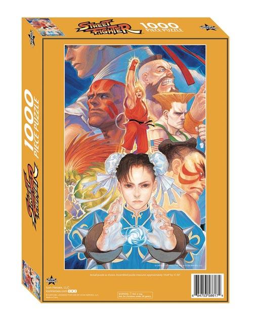 Street Fighter 1000 Piece Jigsaw Puzzle