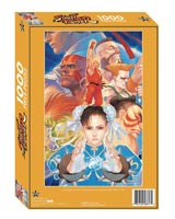 Street Fighter 1000 Piece Jigsaw Puzzle
