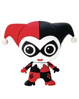 DC Heroes Harley Quinn 3D Foam Magnet