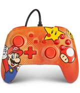 Nintendo Switch Wired Controller Super Mario Vintage
