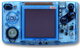 Neo Geo Pocket Color Handheld System - Crystal Blue
