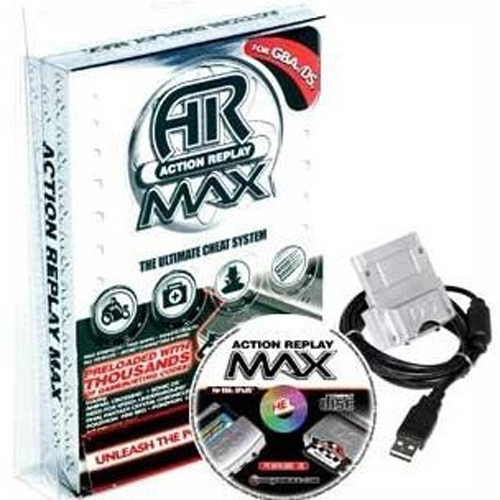 Nitendo GBA/DS Action Replay Max by Intec