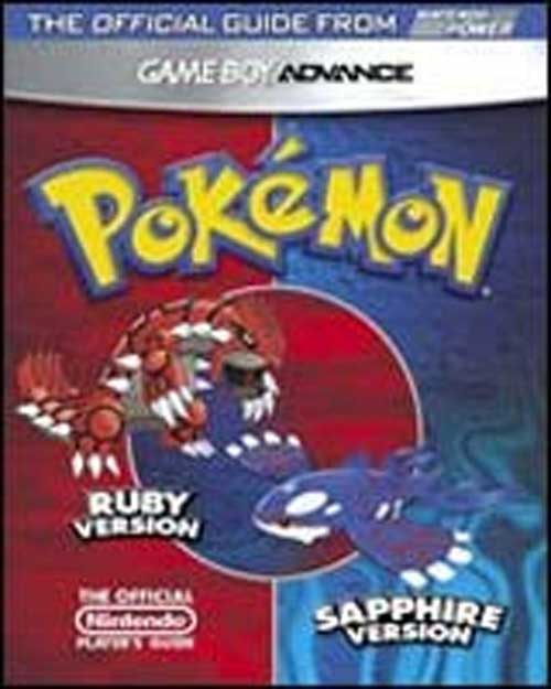 Pokemon Ruby & Sapphire Official Nintendo Player's Guide