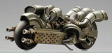 Final Fantasy Mechanical Arts: Kadaj's Motorcycle Statue
