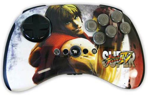PS3 Super Street Fighter IV Wireless FightPad - Ken