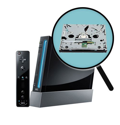 Nintendo Wii Repairs: Disc Drive Replacement Service