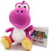 Super Mario Purple Yoshi 5 Inch Plush Mascot Strap