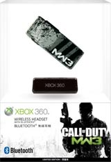 Xbox 360 Call of Duty Modern Warfare 3 Wireless Headset with Bluetooth