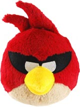 Angry Birds Space 5 Inch Red Bird Plush
