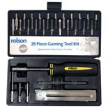 28 Piece Gaming Tool Kit (Rolson)