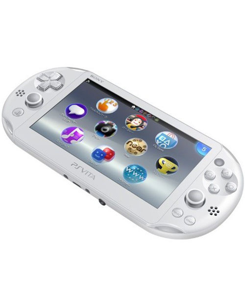 PlayStation Vita System White with Wi-fi