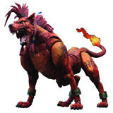 Final Fantasy Advent Children Play Arts Kai Red XIII Action Figure