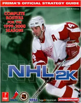 NHL 2K Official Strategy Guide Book