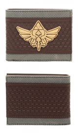 Legend of Zelda Mix Material Bi-Fold Gift Boxed Wallet