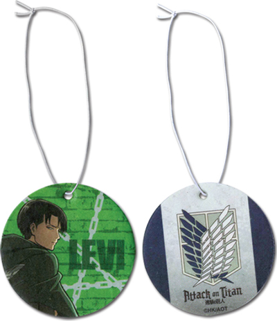 Attack On Titan Levi Air Freshner