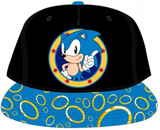 Sega Genesis Sonic Rings Sublimated Bill Snapback