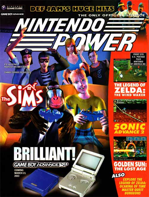 Nintendo Power Volume 166 The Sims