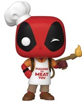 Pop Marvel Deadpool 30th Backyard Griller Deadpool Vinyl Figure