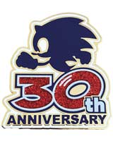 Sonic The Hedgehog Logo 30th Anniversary Limited Edition Pin