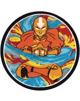 Avatar The Last Air Bender Avatar State 3 Inch Patch