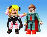 Street Fighter Minimates Demitri & Morrigan