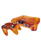 Nintendo 64 Funtastic Series Fire Orange Edition System Trade-In