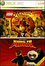 LEGO Indiana Jones Original Adventures / Kung Fu Panda Bundle