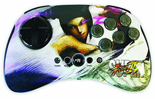 PS3 Super Street Fighter IV Wireless FightPad - Juri