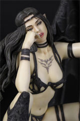 Fantasy Figure Gallery: Luis Royo Black Tinkerbell Statue