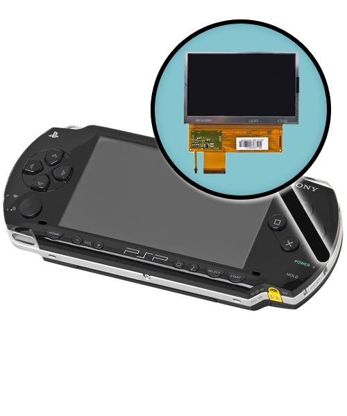 PlayStation Portable 1000 Repairs: LCD Screen Replacement Service