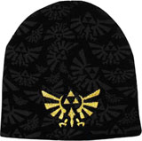 Legend of Zelda Twilight Princess Splash Print Beanie