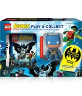 LEGO Batman Play & Collect with Batman Figure