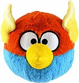 Angry Birds Space 5 Inch Blue Lightning Bird Plush