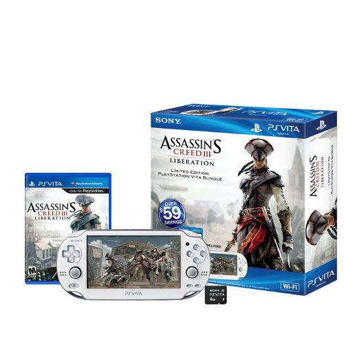 PlayStation Vita Assassin's Creed III: Liberation Limited Edition Wi-Fi Bundle