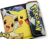 Pokemon: Pikachu and Eevee Black Wallet