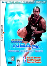 NBA 2K Official Strategy Guide Book