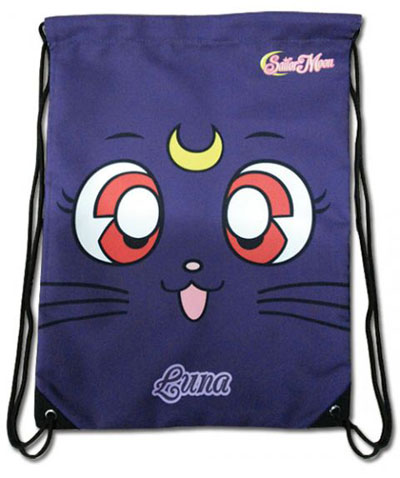 Sailor Moon Luna Drawstring Backpack