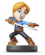 amiibo Mii Swordfighter Super Smash Bros.