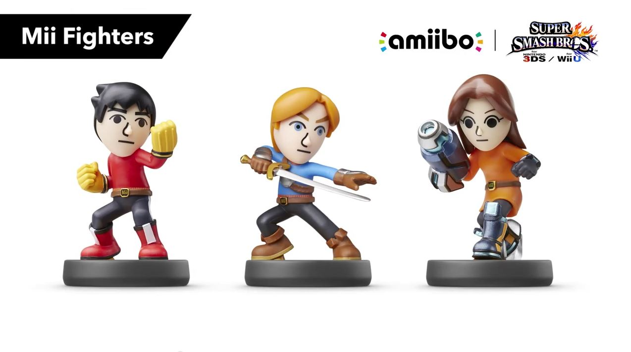 amiibo Mii Fighters