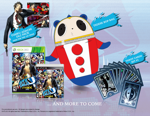 Persona 4 Arena Ultimax Launch Edition