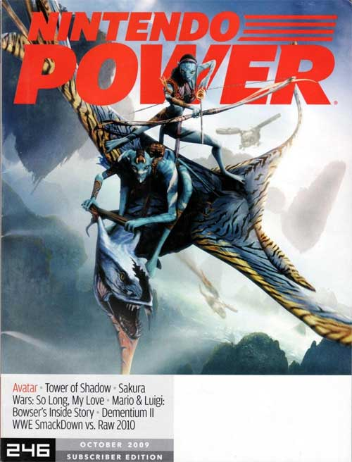 Nintendo Power Volume 246 Avatar