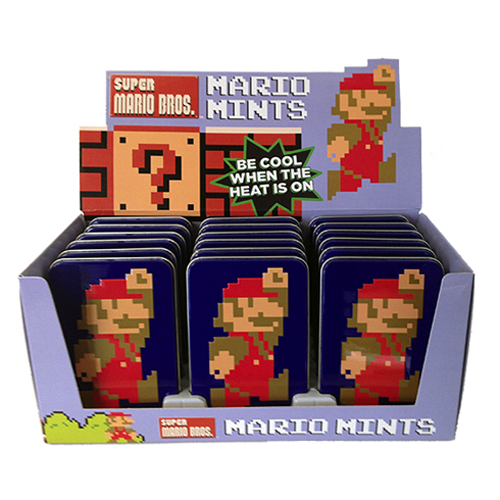 Mario 8-bit Mints