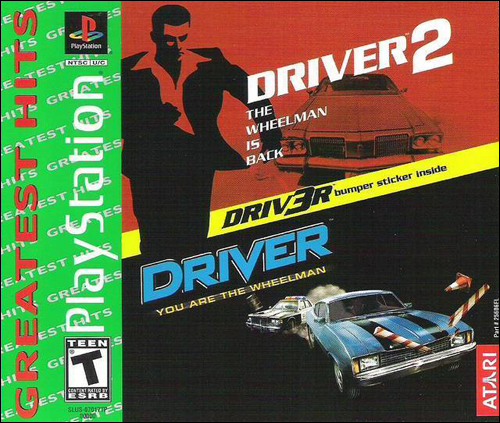 Driver Driver 2 Twin Pack