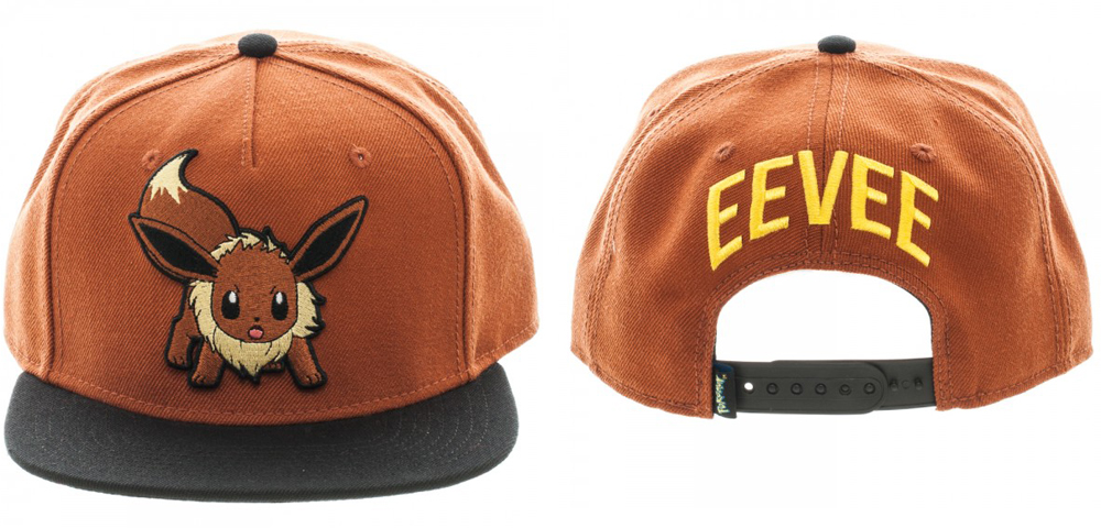 Pokemon Eevee Color Block Snapback