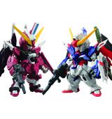 FW Gundam Converge SP08 Destiny Gundam & Infinite Justice Gundam