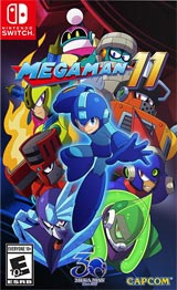 Mega Man 11 (Nintendo Switch) boxart