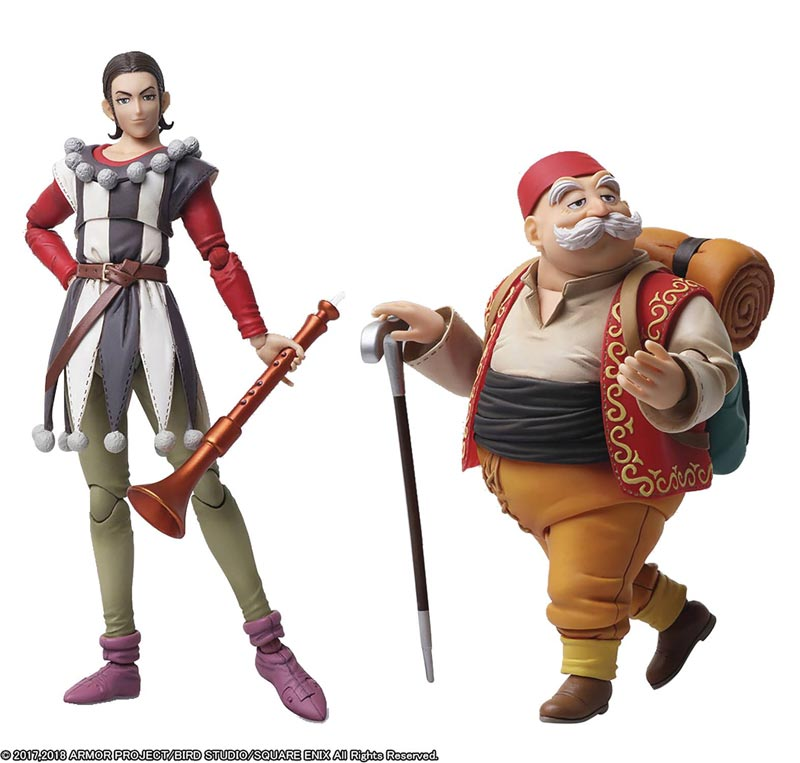 Dragon Quest XI Bring Arts Sylvando and Rab full shot