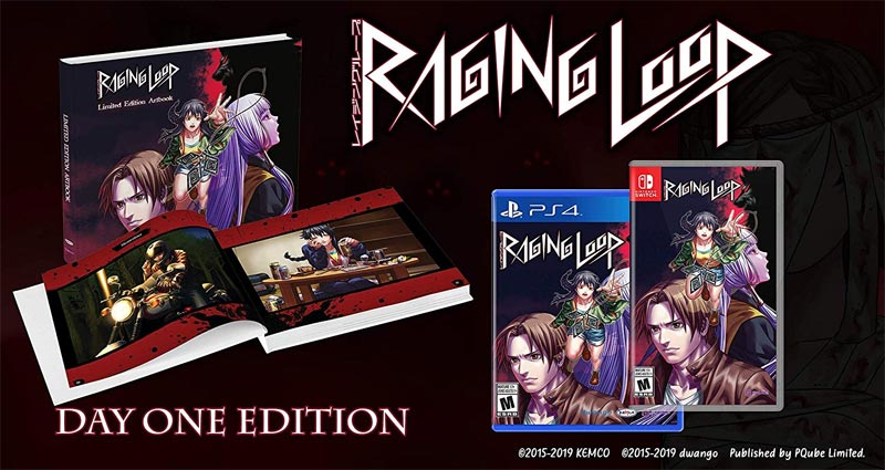 PlayStation 4 Raging Loop Day One Edition with art book